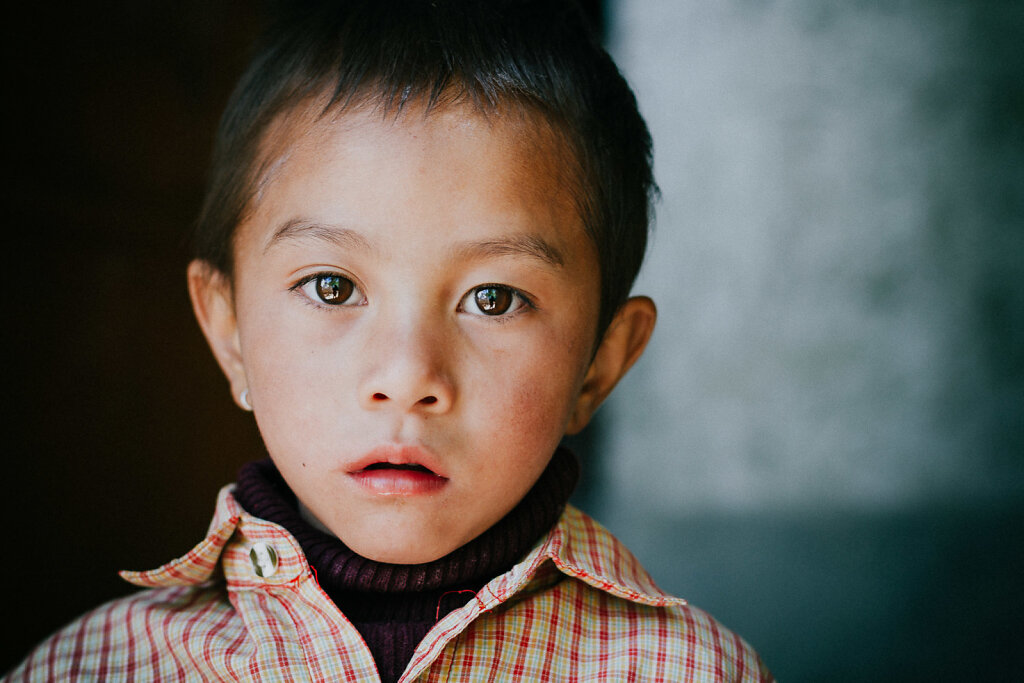 Little Boy in Leh